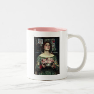 Gather Ye Rosebuds Two-Tone Coffee Mug