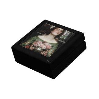 Gather Ye Rosebuds While Ye May Jewelry Box