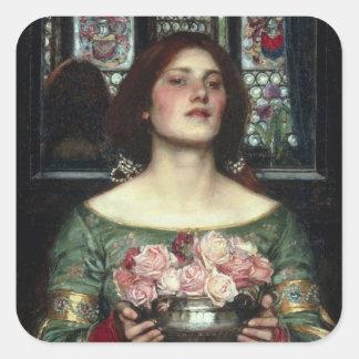 'Gather Ye Rosebuds While Ye May' John William Wat Stickers