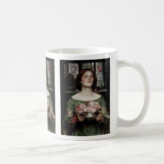 Gather Ye Rosebuds While Ye May Classic White Coffee Mug