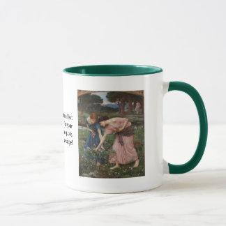 Gather Ye Rosebuds While Ye May Mug