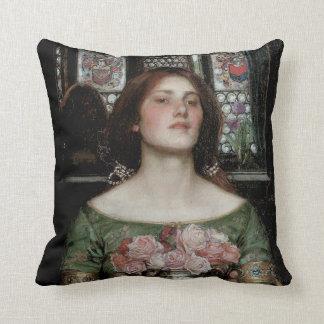 Gather Ye Rosebuds While Ye May Throw Pillow