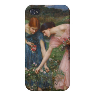 Gather Ye Rosebuds While Ye May - Waterhouse Covers For iPhone 4