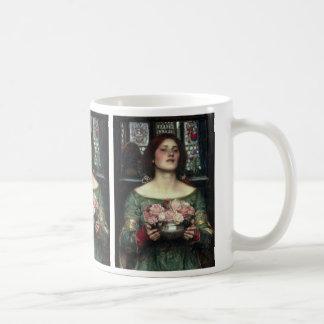 Gather Ye Rosebuds While Ye May - Waterhouse Classic White Coffee Mug