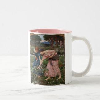 Gather Ye Rosebuds While Ye May - Waterhouse Two-Tone Coffee Mug