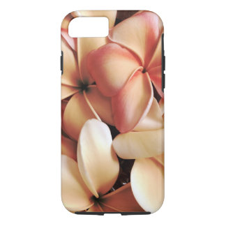 Gathered Hawaiian Plumeria Lei Flowers iPhone 7 Case