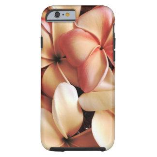 Gathered Hawaiian Plumeria Lei Flowers Tough iPhone 6 Case