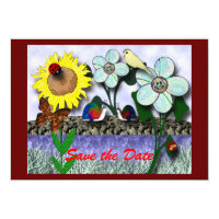 Gathering at the Pond 5&quot; X 7&quot; Invitation Card (<em>$2.16</em>)