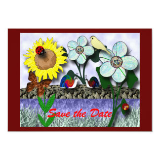 Gathering at the Pond Card