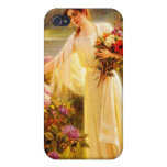 Gathering Flowers Cover For iPhone 4