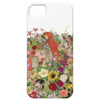 Gathering Flowers iPhone SE/5/5s Case