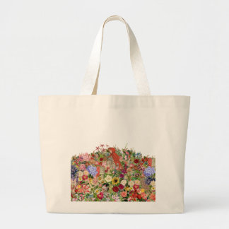 Gathering Flowers Jumbo Tote Bag