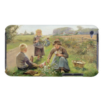 Gathering Flowers (oil on canvas) Barely There iPod Case