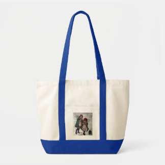 Gathering Mistletoe Tote Bag
