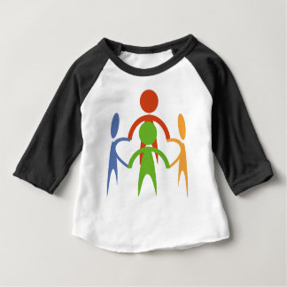 Gathering of people baby T-Shirt