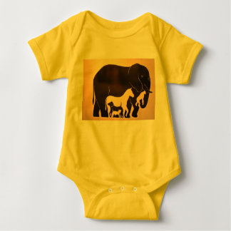 Gathering of the Animals Baby Bodysuit