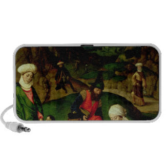 Gathering of the Manna, from the Altarpiece Portable Speaker
