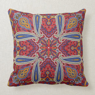 Gathering of the Tribes Throw Pillow