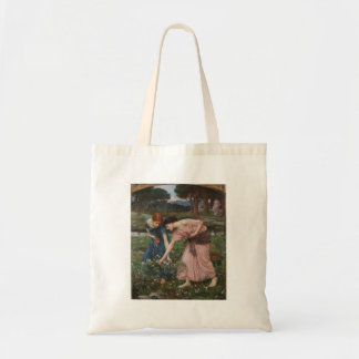 Gathering Rosebuds by John William Waterhouse Bag