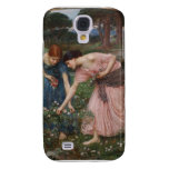 Gathering Rosebuds by John William Waterhouse Galaxy S4 Cover