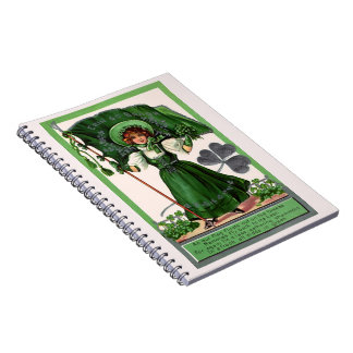 Gathering Shamrocks Notebook