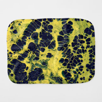 GATHERING STORM (an abstract art design) ~ Baby Burp Cloth