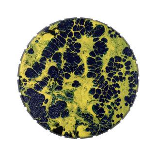 GATHERING STORM (an abstract art design) ~ Candy Tin