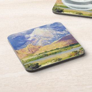 Gathering Storm, High Seas by Guy Rose Beverage Coaster