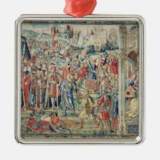 Gathering the Booty, Tapestry of David and Bathshe Christmas Ornaments