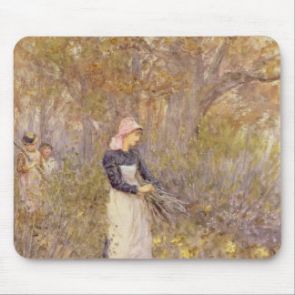 Gathering wood for mother mouse pad