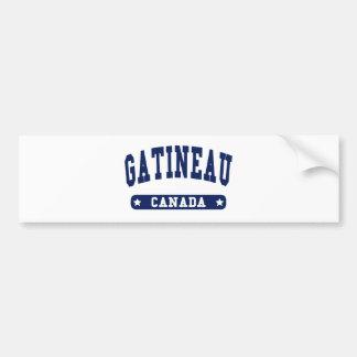 Gatineau Bumper Sticker