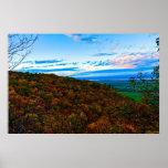 Gatineau Escarpment in fall Print