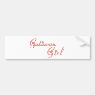 Gatineau Girl Bumper Sticker