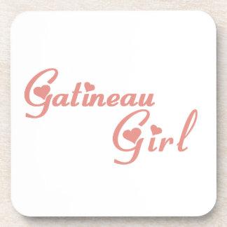 Gatineau Girl Coaster