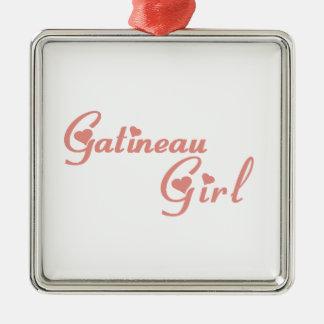 Gatineau Girl Metal Ornament