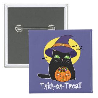 Gatito adaptable de la bruja de Halloween