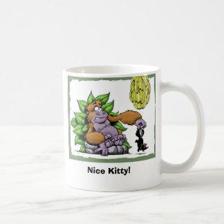 ¡Gatito agradable! Taza De Café