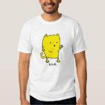 Gatito amarillo polera