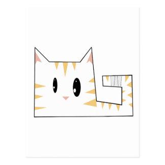 Gatito arrinconado postales