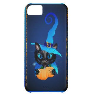 Gatito azul de la bruja carcasa para iPhone 5C