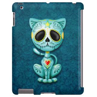 Gatito azul del azúcar del zombi