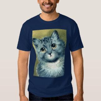 gatito azul playera