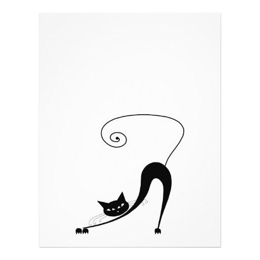 Gatito banal negro 2 tarjetón