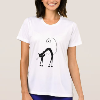 Gatito banal negro 9 camisas