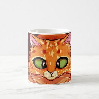 Gatito bonito bizco taza