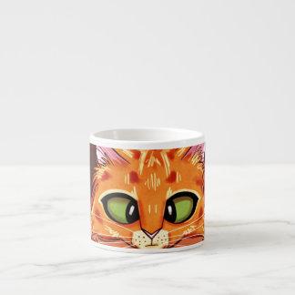 Gatito bonito bizco taza espresso