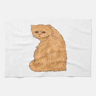 Gatito bonito toallas