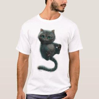 Gatito Chessur del gato el | de Cheshire Playera