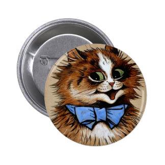 Gatito con una pajarita pin