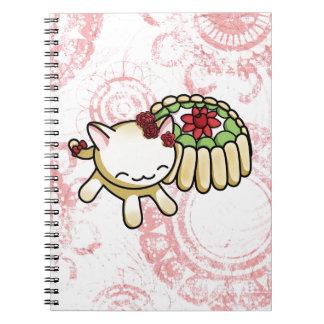 Gatito de Charlotte Russe Notebook